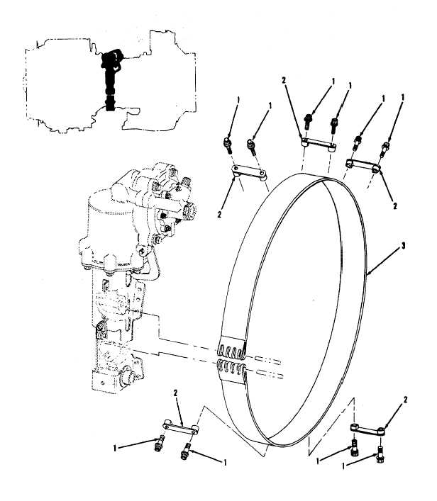 Figure 6 Compressor Bleed Band And Related Parts