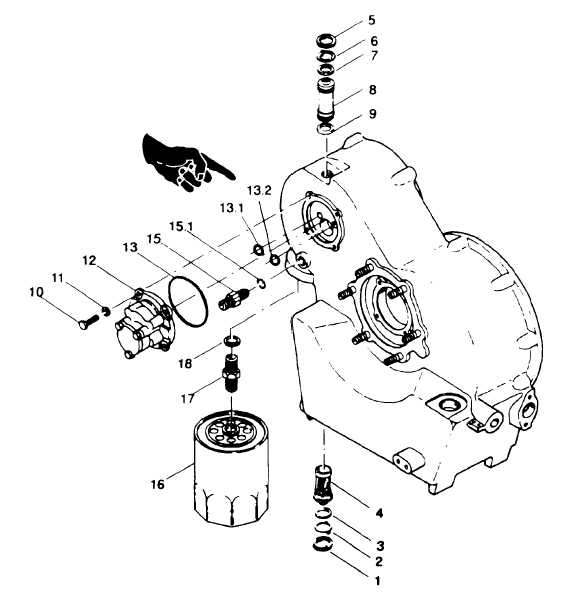 Figure 8-19  Preparing Gearbox Assembly for Disassembly Using